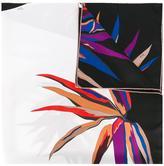 Emilio Pucci leaf print scarf