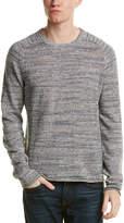 Original Penguin Slub Linen-Blend Crewneck Sweater