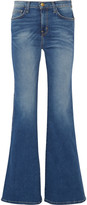 Current/Elliott The Girl Crush mid-rise flared jeans