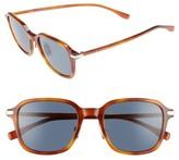 BOSS Men's 0909S 51Mm Sunglasses - Light Havana/ Blue