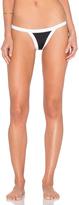 Milly Amalfi Colorblock Cheeky Bikini Bottom