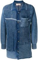 Maison Flaneur - knitted cardigan - men - Cotton - 48
