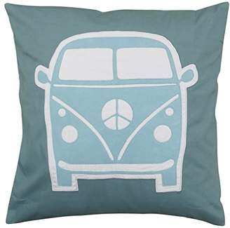 Taftan Little Van Pillow Case (Grey/Blue)
