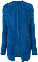 Humanoid ribbed zip cardigan - women - Acrylic/Polyamide/Alpaca/Virgin Wool - S