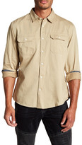 Dockers Long Sleeve Twill Fitted Shirt