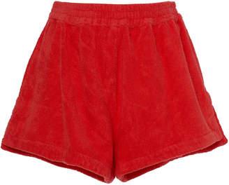 Terry Estate Cotton-Terry Shorts Size: S