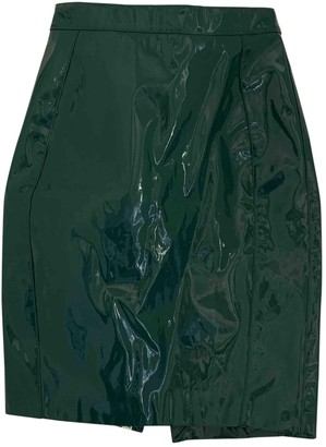 House Of CB Green Rubber Skirts