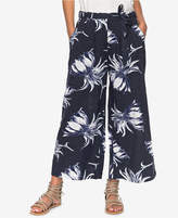 Roxy Juniors' Beachy Vibes Printed Cropped Pants