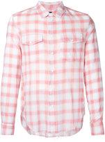 Garcons Infideles - gingham shirt - men - Cotton - XS
