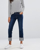 Vero Moda Turn-Up Straight Leg Jeans