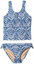 shade critters Tie-Dye Tankini Set Girl's Swimwear Sets