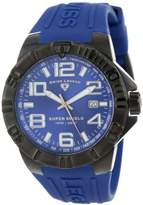 Swiss Legend Men's 40117-BB-03 Super Shield Dial Silicone Watch