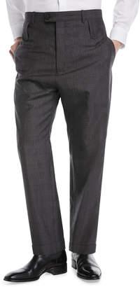 Balenciaga High-Rise Double Belt-Loop Trousers