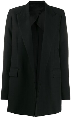 AMI Paris Buttonless Long Blazer
