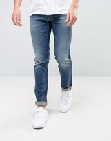 Jack and Jones Slim Fit Jeans In Blue Wash