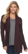 Apt. 9 Women's Geometric Ribbed Cardigan