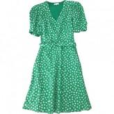 Claudie Pierlot SS18 Green Cotton Dress for Women