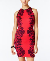B. Darlin Juniors' Printed Bodycon Dress