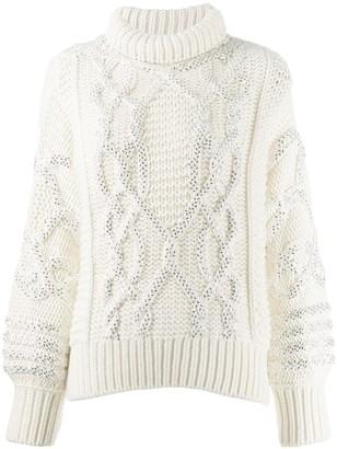 Ermanno Scervino cable-knit jumper