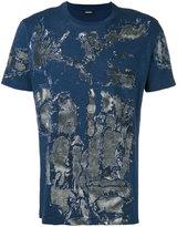 Diesel allover print T-shirt - men - Cotton - M