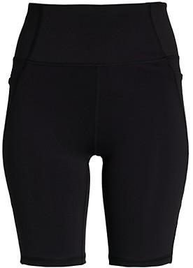 X By Gottex Arrow-Print Biker Shorts