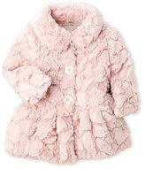Calvin Klein Newborn/Infant Girls) Faux-Fur Jacket