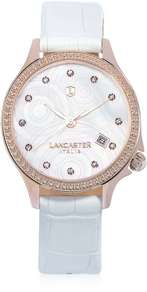Lancaster Goccia Rose Gold Stainless Steel Watch