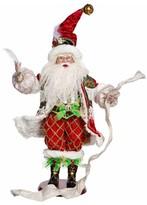 Mark Roberts Checking His List Santa