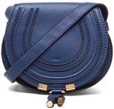 Chloé Small Marcie Satchel in Blue.
