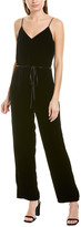 Rag & Bone Jamie Velvet Silk-Blend Jumpsuit