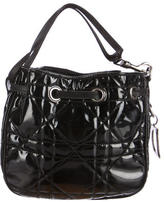 Christian Dior Patent Leather Cannage Handle Bag