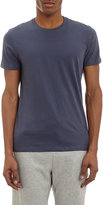 Barneys New York MEN'S CREWNECK T-SHIRT-NAVY SIZE S