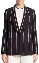 Brunello Cucinelli Cotton Striped Jacket