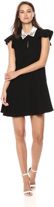 Rebecca Taylor Women's Sleeveless Embellished Dress