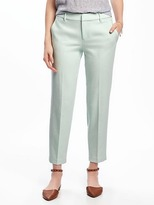 Old Navy Mid-Rise Straight Harper Pants for Women