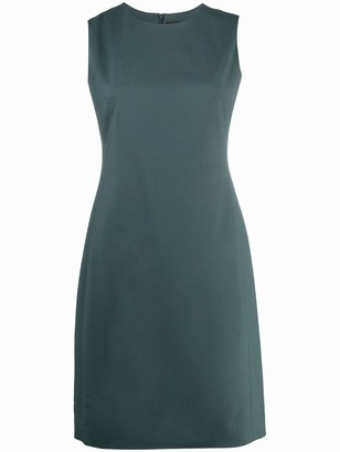 Theory Crew Neck Fitted Dress