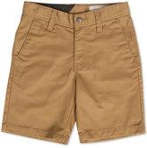 Volcom Little Boys' Frickin Chino Shorts