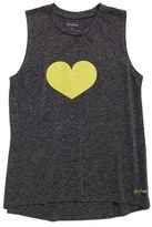 Drybar Women's Capsule Yellow Heart Tank Top