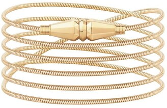 Boucheron 18kt yellow gold Jack de wrap bracelet