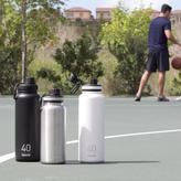 Takeya ThermoFlask 32 oz. Insulated Stainless Steel Water Bottled in Steel