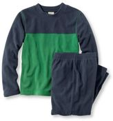 L.L. Bean Boys' Cozy Fleece Pajama Set