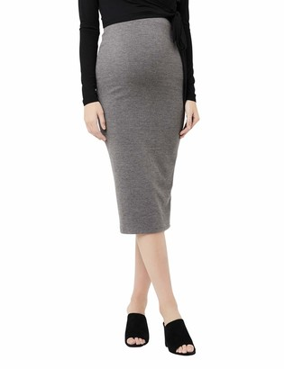 Ripe Maternity Women's Skirt Rib Knit