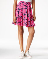 Maison Jules Printed Flared Skirt, Only at Macy's
