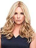 """EasiPart French 12"""" Color 6/33 - Jon Renau Wigs Remy Human Hair Topper Women's Hand Tied Knotting Top Piece"""