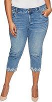 Lucky Brand Women's Plus Size Emma Crop Jean