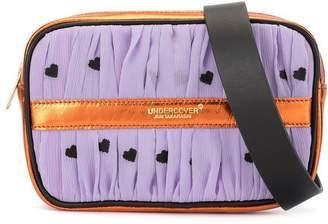 Undercover heart print belt bag