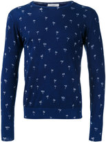 Paolo Pecora palm print sweater - men - Cotton - L