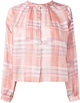Ulla Johnson checked shirt - women - Cotton - 0