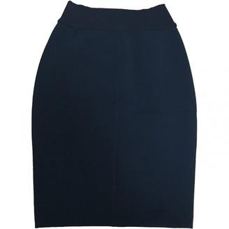 Alaia Blue Skirt for Women Vintage