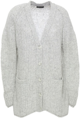 Rag & Bone Brushed Ribbed-knit Cardigan
